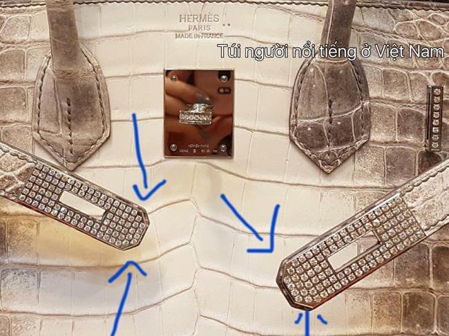 Chiếc túi Birkin bạch tạng giá 5 tỷ đồng của Hoa hậu Hải Dương bị tố là FAKE! - Ảnh 4.