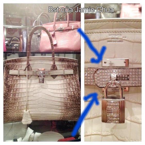Chiếc túi Birkin bạch tạng giá 5 tỷ đồng của Hoa hậu Hải Dương bị tố là FAKE! - Ảnh 6.