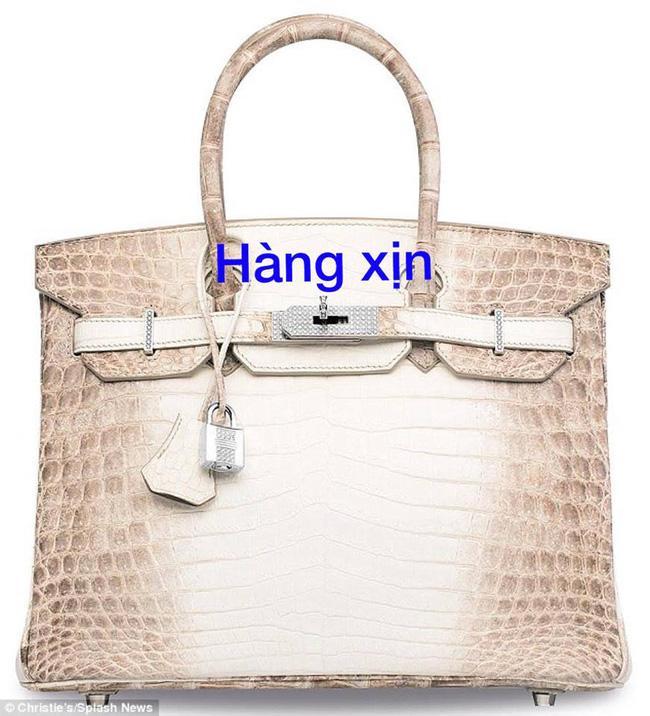 Chiếc túi Birkin bạch tạng giá 5 tỷ đồng của Hoa hậu Hải Dương bị tố là FAKE! - Ảnh 7.