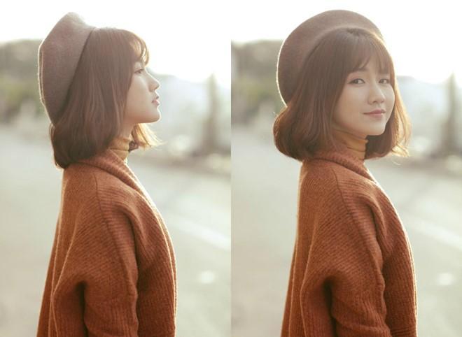 Kieu Trinh xinh dep trong lan dau tham gia MV co trang hinh anh 2