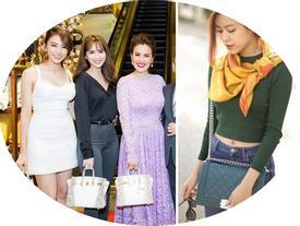 Loạt túi hàng hiệu đắt đỏ nhưng 'đụng hàng' khiến không ít sao Việt 'bóc mẽ' lẫn nhau