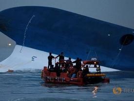 Hàn Quốc sắp trục vớt phà Sewol, hy vọng thấy 9 thi thể cuối
