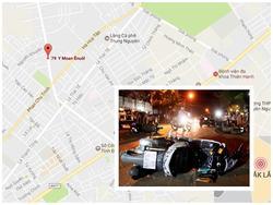 Ô tô tông liên hoàn 3 xe máy, 8 người bị thương