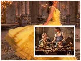 BẠN CÓ BIẾT: Chiếc đầm vàng trong 'Người đẹp và quái vật' được kết từ hơn 2.000 viên pha lê