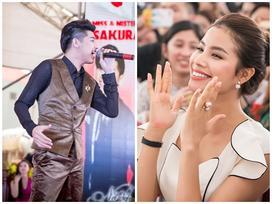 Phạm Hương hào hứng vỗ tay hát theo Noo Phước Thịnh