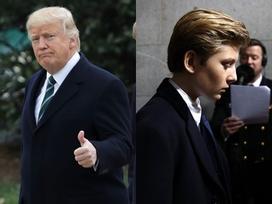 Những lần 'gây bão' mạng của cậu út điển trai nhà Trump