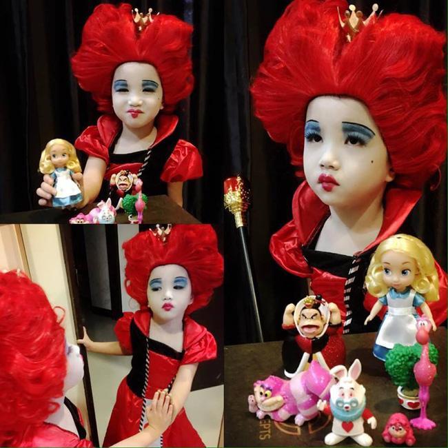 Bị mẹ ngăn cản, cô bé 5 tuổi vẫn kiên quyết cắt tóc răng cưa để giống thần tượng Maruko - Ảnh 11.