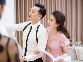 Vợ 9X của MC Thành Trung mạnh tay chi hơn trăm triệu cho một bộ áo cưới