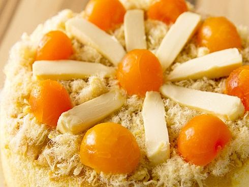 Cách làm bánh bông lan trứng muối ngon tuyệt