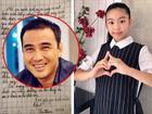 Con gái MC Quyền Linh bật khóc nức nở khi viết bài văn tâm sự về gia đình