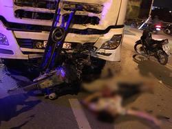 Xác định danh tính nam thanh niên 21 tuổi đâm vào xe bồn tử vong trên cầu Vĩnh Tuy