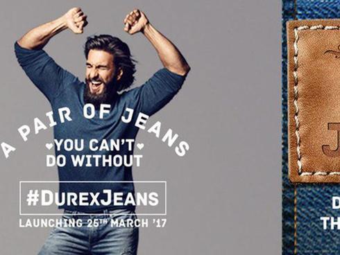 KHÔNG THỂ TIN ĐƯỢC: Hãng bao cao su Durex cũng đã cho ra mắt quần jeans!