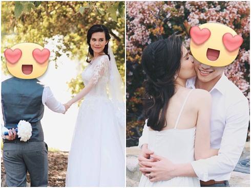 Thanh Thảo công khai ảnh cưới của em gái, có vẻ như Thụy Anh sắp lên xe hoa