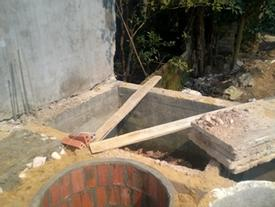 Vụ phát hiện hài cốt dưới bể phốt ở Thanh Hóa: Nghi là án mạng