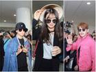 Fan Việt gào thét khản cổ khi thấy Seventeen, Se7en, Apink tại sân bay