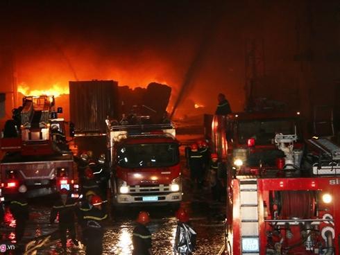 Vụ cháy 26 giờ tại công ty may ở Cần Thơ gây thiệt hại 6 triệu USD