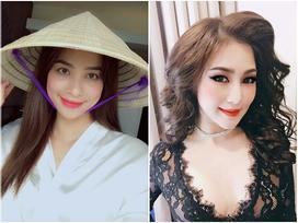 FB 24h: Phạm Hương hóa gái quê đẹp tuyệt, Hương Tràm khoe mặt nhọn khác lạ