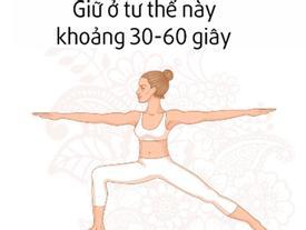 Bài tập yoga cho vòng một săn chắc mỗi ngày