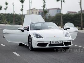 Cận cảnh Porsche 718 Boxster giá 4,5 tỉ đồng tại Việt Nam