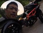 Johnny Trí Nguyễn bị tai nạn, xế sang Ducati 400 triệu đồng vỡ nát