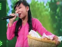 Cô bé Vĩnh Long bán bánh trên sân khấu 'Thần tượng tương lai'