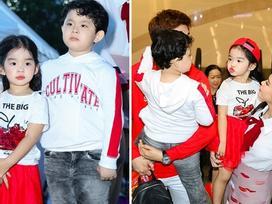Con trai nhà Trương Quỳnh Anh thân thiết với bé Thỏ nhà Xuân Lan