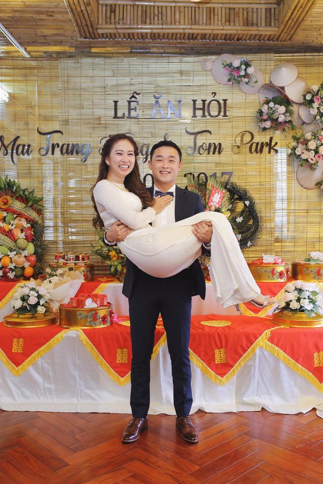 Tình yêu rượu gạo Soju không cưa cũng đổ với soái ca Hàn và hôn lễ đậm chất Việt cùng nón lá và hoa đá - Ảnh 6.
