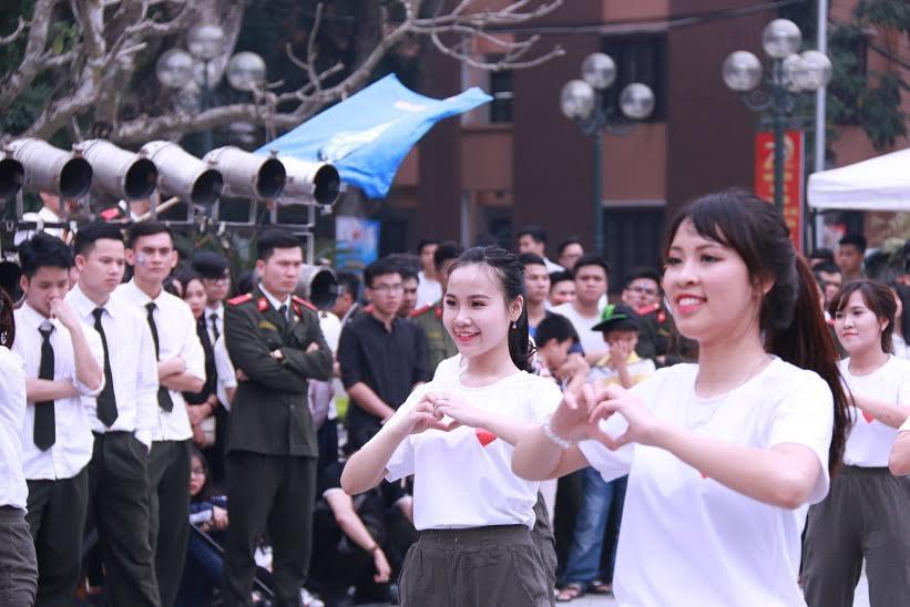 học viện an ninh nhân dân, nữ sinh, sinh viên