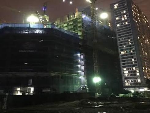 HN: 2 công nhân tử vong tại công trường xây dựng toà nhà cao tầng
