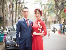 Bật mí hậu trường chụp ảnh cưới của hot girl Tú Linh và chồng