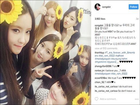 Chị cả của T-Ara khẳng định nhóm không tan rã, nhưng không dám tiết lộ gì thêm