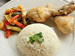 Đầu tuần bận rộn, mỗi người một đĩa cơm gà là xong ngay bữa tối