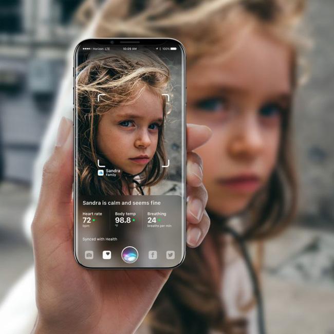 Cận cảnh chiếc iPhone X với màn hình cong tràn cạnh đẹp mướt mải - Ảnh 3.