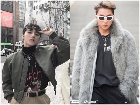 'Thời trang ông bố', áo lông dài được Sơn Tùng lăng-xê tại Hàn Quốc