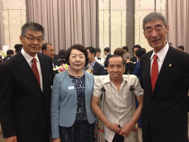 Người Việt đầu tiên bị dính liền cơ thể trở thành giáo sư thỉnh giảng tại Nhật Bản - Ảnh 2.