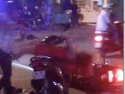 Xôn xao clip nam thanh niên đánh bạn gái giữa đường