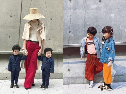 Không thua chị kém anh, fashionista nhí lên đồ cực 'chất' tại Seoul Fashion Week