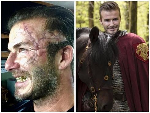"""David Beckham gây sốc với diện mạo """"xấu đau đớn"""""""