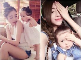 Hình ảnh 'mòn con mắt' hơn thời con gái của 5 hot girl đình đám sau khi làm mẹ