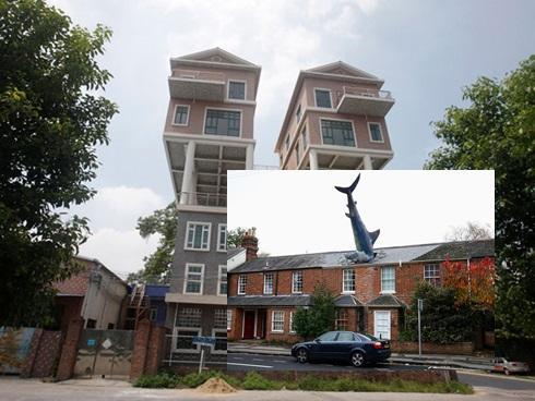"""Những ngôi nhà """"siêu dị"""", hiếm có trên thế giới"""