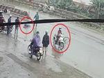 Cô gái đâm người đi xe đạp bất tỉnh rồi bỏ chạy
