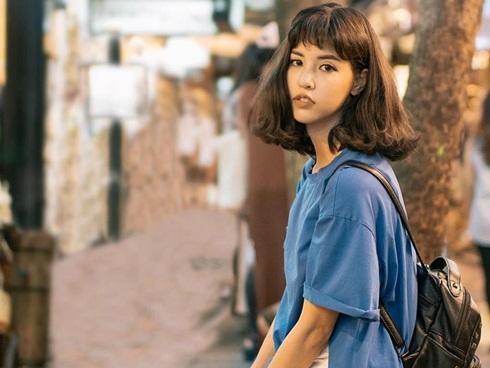 Cô gái Thái Lan nổi tiếng Facebook nhờ gương mặt đẹp lạ