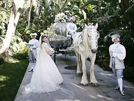 Đám cưới siêu xa hoa như truyện cổ tích của cặp đôi 'con nhà giàu' Singapore