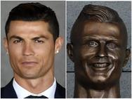 Loạt ảnh chế siêu hài hước về bức tượng Ronaldo xấu xí