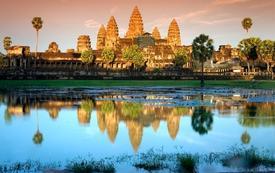 Vương quốc Campuchia huyền bí nhìn từ trên cao