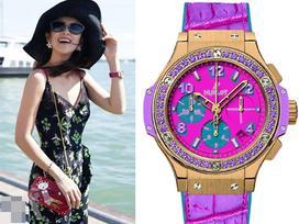Bóc nhãn đồng hồ đắt giá của Lưu Diệc Phi, Lý Băng Băng, Đường Yên