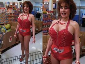 Bắt gặp những hình ảnh 'quái dị ở trong siêu thị'