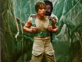 'Người Sói' Logan oai phong là thế, nào ngờ bị chế ảnh lại trông buồn cười thế này