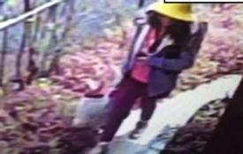 Xuất hiện hình ảnh người đàn ông lạ mặt bám theo bé gái người Việt tại Nhật
