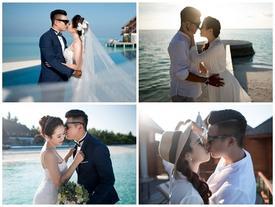 Hậu đám cưới 6 tỷ, nữ đại gia Bình Phước gây sốt với bộ ảnh cưới đẹp nao lòng tại Maldives